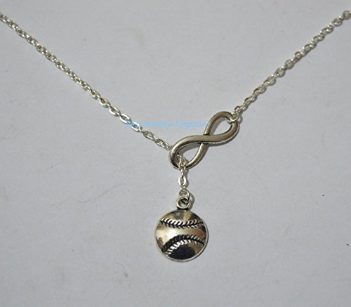 Infinity Baseball Softball Gift For Mom Necklace,Baseball Gift Necklace ,best gift Pendant Necklace,Simple Necklace, Everyday Jewelry,charm necklace