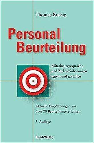 Personalbeurteilung: 9783766336637: Amazon.com: Books