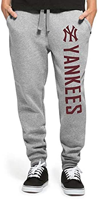 47 Brand East Side Pants New York Yankees Pantalones De Hombre Heather Grey Talla M Amazon Es Ropa Y Accesorios