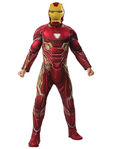 Rubie's Costume Deluxe Iron Man Adult Costume Adult Standard ()