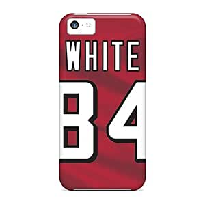 5c Scratch-proof Protection Case Cover For Iphone/ Hot Atlanta Falcons Phone Case