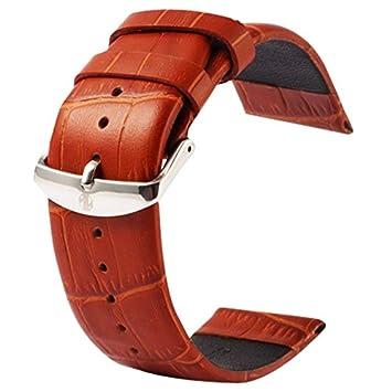 Relojes bandas, kakapi para Apple Watch 38 mm hebilla de textura de cocodrilo Classic piel