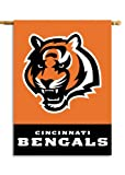 Fremont Die NFL Cincinnati Bengals 2-Sided 28-by-40-Inch House Banner