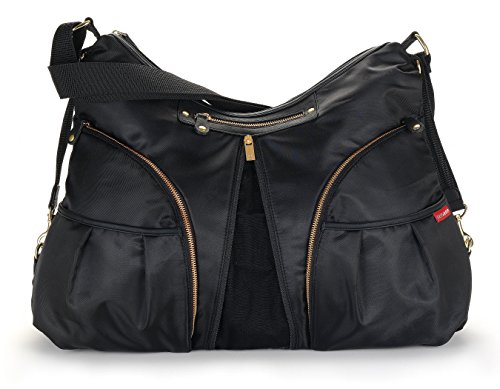 Skip Hop Versa Expandable Diaper Bag, Black by Skip Hop