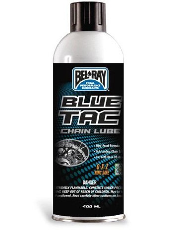 BEL-RAY BLUE TAC CHAIN LUBE 175 ML AEROSOL CANS, Manufacturer: BEL-RAY, Manufacturer Part Number: 99060-A175W-AD, Stock Photo - Actual parts may vary.