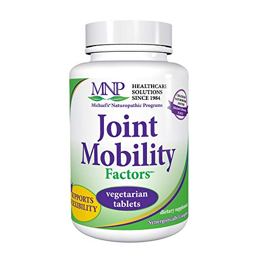 Michael's Naturopathic Programs Joint Mobility Factors - 120 Vegetarian Tablets - Contains Essential Nutrients for Proper Joint Function, Non GMO Glucosamine Sulfate - Kosher - 30 Servings