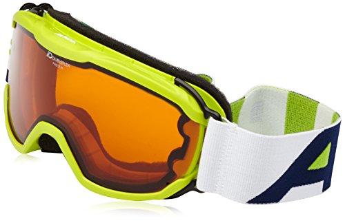 Alpina Pheos Jr. Lunettes de ski enfant taille unique citron vert