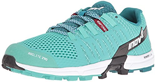Inov8 Dames Roclite 290 Off-road Schoenen & Work-out Vizier Bundel Teal / Black / White