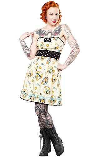 Sourpuss-Vintage-Clowns-Party-Dress