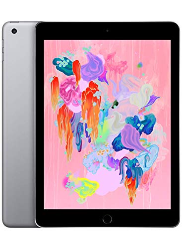 Apple iPad (Wi-Fi, 32GB) - Space Gray (Latest - Box Make Book