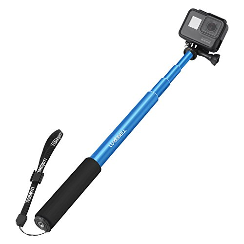4cacd495d8efce Luxebell Adjustable Telescoping Monopod Session. Review - Luxebell Selfie  Stick Adjustable ...