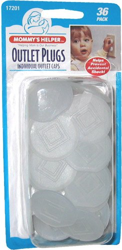 Mommys Helper Outlet Plugs, - 3 Packs Of 36 Count = 108 Count