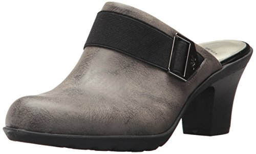 Women's Hangout Synthetic Clog, Taupe, 9 M US (Ak Anne Klein Mules)