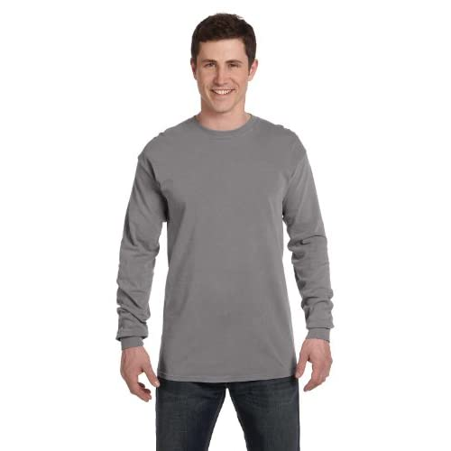 Comfort Colors 6.1 oz Ringspun Garment-Dyed Long Sleeve T-Shirt C6014 for cheap
