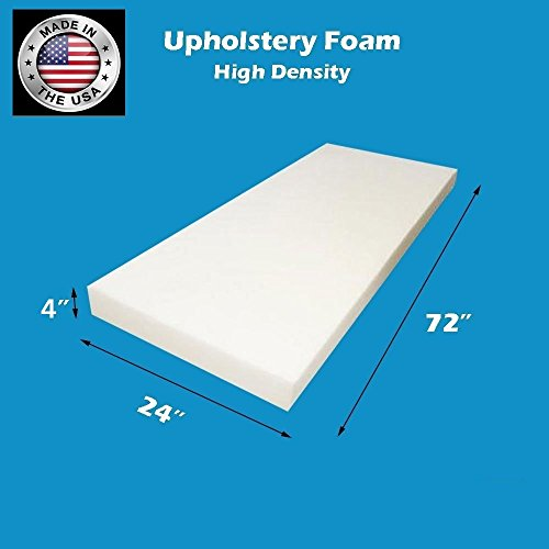 (FoamTouch Upholstery Foam Cushion High Density, 4