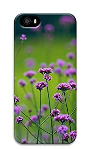 iPhone 5s Cases & Covers - Glamorous Purple Flowers Custom PC Soft Case Cover Protector for iPhone 5s