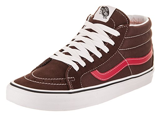 Vans Unisex Sk8-Mid Reissue Shaved Chocolate/Rococco Skate Shoe 9.5 Men US / 11 Women US