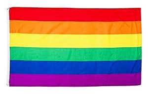 Katerina Prestige dra025Bandera Rainbow, Color Blanco, 150x 90x 0.5cm