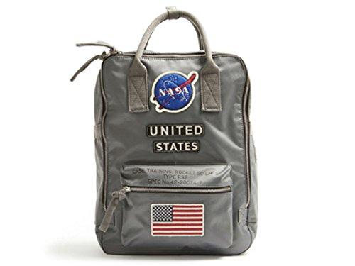 (Red Canoe - NASA Backpack | U-BAG-NASABP-GY)
