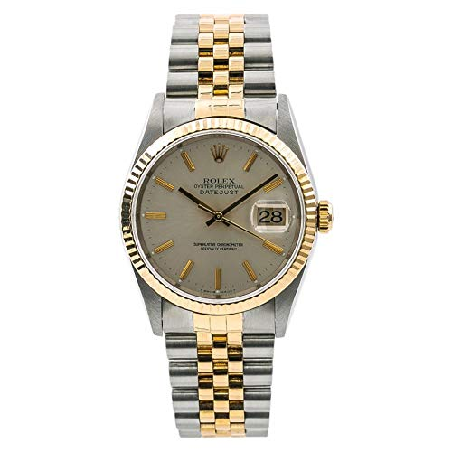 (Rolex Datejust Automatic-self-Wind Male Watch 16233 (Certified)