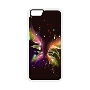 """WJHSSB Cover Shell Phone Case Butterfly For iPhone 6 Plus (5.5"""")"""