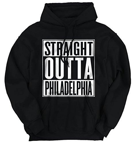 Straight Outta Philadelphia, PA City Movie T Shirts Gift Ideas Hoodie Sweatshirt Penn Oversized T-shirt