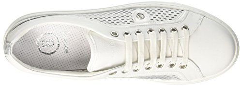 Sneaker silver Donna white Bogner New Salzburg Silber 19 TWFzztpwq