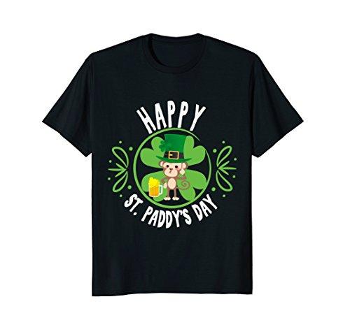 Cute Drunk Monkey St Patricks Day T-Shirt Funny Women (Drunk Monkey)
