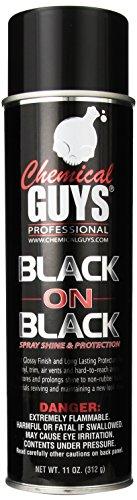 Chemical Guys AIR_Spray_1 Black On Black Instant Shine Interior & Exterior Spray Dressing