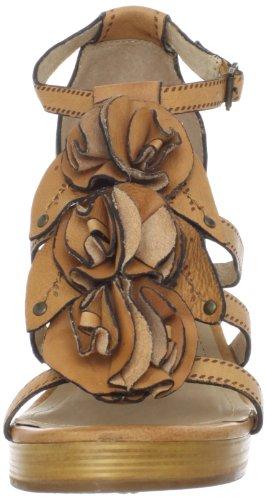 Frye Womens Janna Flower T-strap Sandaalbruin