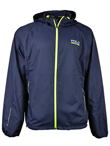 Ralph Lauren Polo Sport Mens Soft Shell Full Zip Jacket French Navy XX- Large