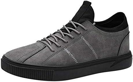 JFHGNJ Vente Hommes s Casual Confortable Respirant Chaussures Mode De Plein Air Chaussures Sneakers pour Hommes Streetwear-Noir_39_0