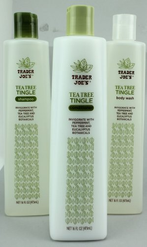 Trader Joes Tingle Shampoo Conditioner