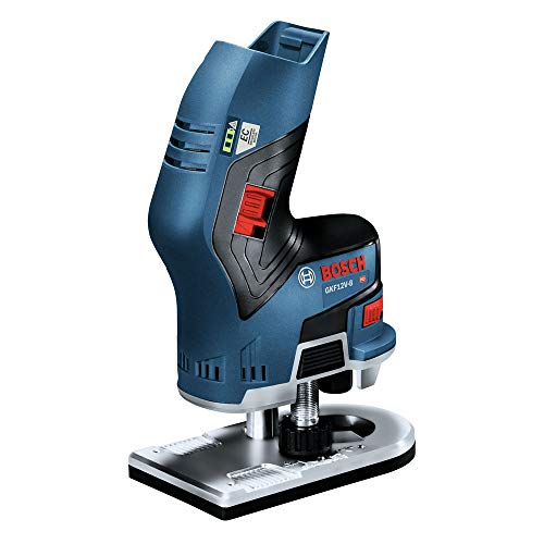Bosch GKF12V-25N-RT 12V Max Brushless Lithium-Ion 1/4 in. Cordless Palm Edge Router (Tool Only) (Renewed)