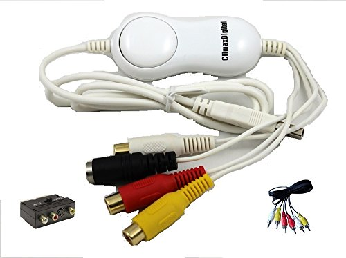 ClimaxDigital VCAP800 VHS & Camcorder USB Video Capture Kit for MAC OSX &...