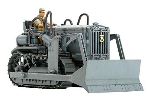 Tamiya Models Komatsu G40 Bulldozer Model Kit - Model Bulldozer