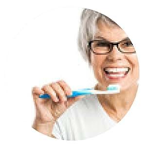 alfombrilla de ratón Lavando los dientes - ronda - 20cm