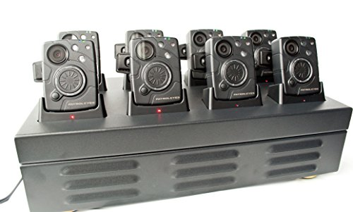 PatrolEyes SC-DV10 Police Data Transfer Charger 8 Camera Docking Station