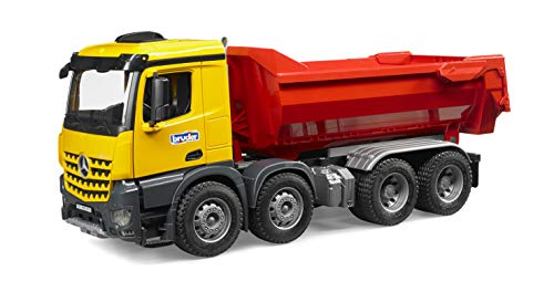 Bruder MB Arocs Halfpipe Dump Truck - color may vary ()