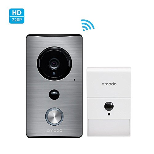Zmodo Greet Wireless Video Doorbell with Beam Wi-Fi Extender...