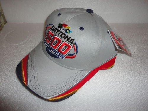 2005-Jeff-Gordon-24-Daytona-500-Champion-February-20-2005-Hat-Cap-One-Size-Fits-Most-OSFM-Adjustable-Velcro-Strap-Chase-Authentics