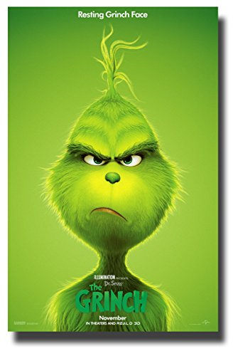 (The Grinch Poster Movie Poster 11 x 17 inches 2018)