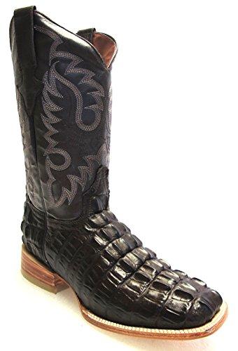Buy alligator boots for men square toe