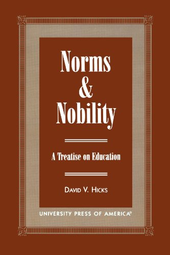 Norms and Nobility: A Treatise on Education