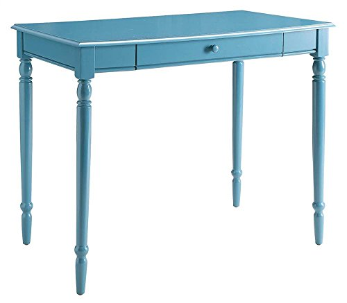 Drop Down Keyboard (Convenience Concepts French Country Desk, 36-Inch, Blue)
