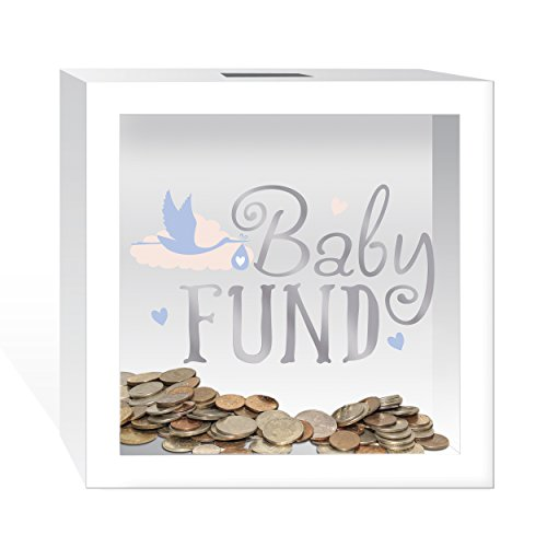 Prinz 4661 6009 Baby Fund Wooden Bank
