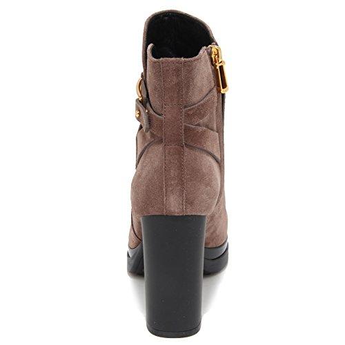 Tronchetto Tod's Boot Tortora Brown Donna 6957n Light Stivaletto Women 7aPZgUqwx