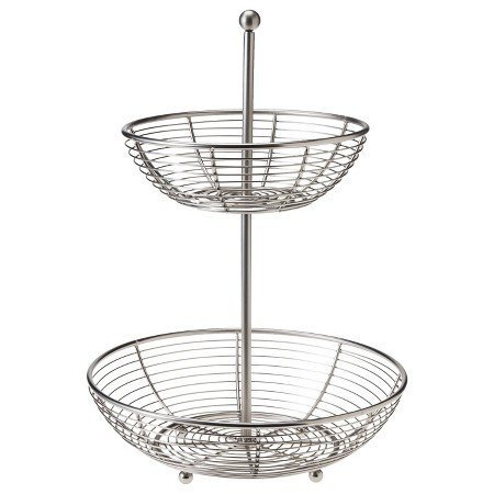 New New Swing 2 Tier Fruit Basket