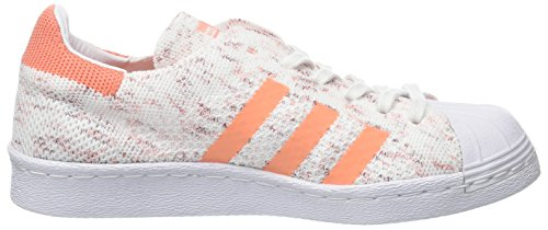 Collegiate Footwear Prime 80s Flash White Scarpe Donna da Knit Orange Superstar adidas Ginnastica Semi Basse Burgundy Bianco q7B5xvn4wE