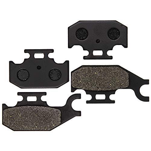 8TEN Semi-Metallic Front Brake Pad Kit 2005-2018 Suzuki King Quad 400 450 500 700 750 59100-31860 59100-31870